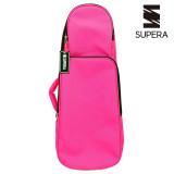 SUPERA 디럭스 우쿨렐레 가방 소프트케이스 백팩 PINK (교재수납가능)