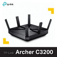 ----- 당일발송 ------티피링크 Archer C3200 AC3200 / 유무선공유기/듀얼밴드/기가비트/WiFi (기본랜선포함/무상 2년 AS