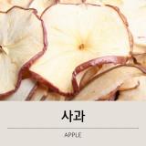 스넥박스 올내추럴 건조과일 말린과일 사과 샘플 (25g~100g)