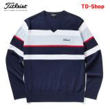 타이틀리스트 브이넥 골프웨어 남성 니트 웨어 스웨터 신상 남자 골프의류 TSMK1761 티디샵