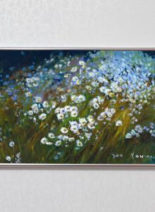 김서영-아스타 / 꽃그림 포스터 / 유화 그림