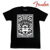 펜더 HIGH VOLTAGE 그래픽 반팔 블랙 티셔츠