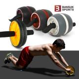 AB휠/초간단복근운동/스트레칭/전신운동/간단한조립/무릎보호패드포함/헬스기구/운동기구