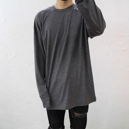 오버핏 스판 긴팔 티셔츠 7color