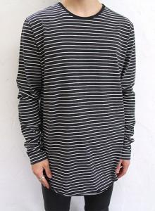 피오갓 단가라 롱슬리브 티셔츠 3color