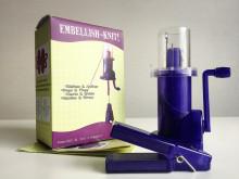 엠벨리쉬니트(Embellish knit)/니트레터링/스풀니트/아이코드/트리코틴/니팅밀/spool knit/니트와인더
