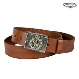 COCKPIT USA R.A.F. Leather Belt 콕핏 R.A.F 가죽 벨트