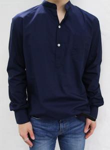 프리미엄 60수 코튼 헨리넥 셔츠 3color