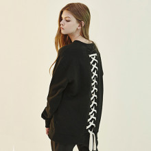 [4/24 순차배송] Back Lace-Up Sweat Shirts IV