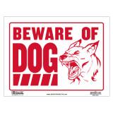 [베이직코리아] BAZIC 9인치 X 12인치 'BEWARE OF DOG' 싸인 '개조심'