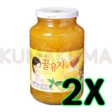 담터 꿀 유자차 1kg 2개 묶음 / 수량 한정 특가