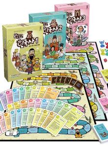 렛츠고 한국사 1+2+3 (선사~현대) 역사 보드게임 풀세트 어린이 선물 게임