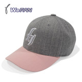 넥센히어로즈 h Buckle Cap GREY/PINK