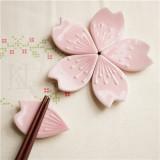 '지지 않아' 벚꽃 잎 젓가락 받침 5pcs SET