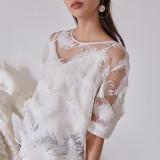 블리다 [VLEEDA] feather blouse