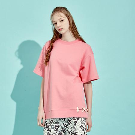 디바이디그낙 Banding Lace-Up Sweat Shirts PI
