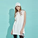 디바이디그낙 Slit Sleeveless T-Shirts IV