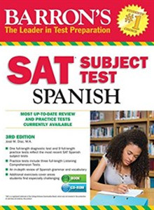 Barron's SAT Subject Test Spanish (해외직수입/반품불가)