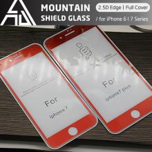 [뉴비 마운틴 쉴드] 아이폰7 풀커버 곡면 강화유리 2.5D 보호필름 9H강화유리 액정방탄 강화유리 아이폰7 plus 풀커버 곡면 강화유리 이큐넥스