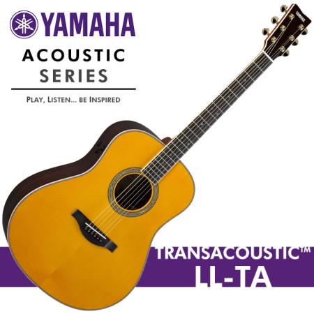 [공식대리점] 야마하 2016 신모델 TransAcoustic LL-TA VT / Yamaha 어쿠스틱 기타 통기타 / 올솔리드 / LL TA / 부산 삼광악기