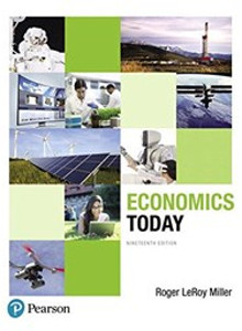 Miller's Economics Today, plus online access (19th edition) (해외직수입/반품불가)