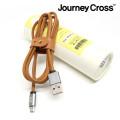 가죽 USB 핸드폰 고속 충전케이블 (마이크로5핀,아이폰)