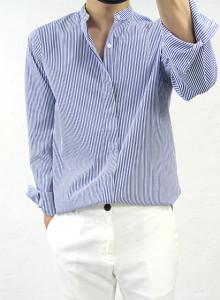 차이나 스트라이프 셔츠 2color