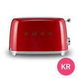 SMEG/스메그 토스터기/토스트기/선물추천/TSF01RD(한국형)