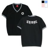 [트라이벌기어]TRIBALGEAR V-NECK T-star 반팔 티셔츠 브이넥