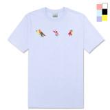 [PearlMoon]펄문 T_shirts 3individual 라운드넥 반팔 티셔츠