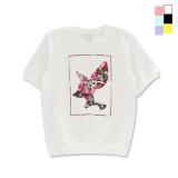 [PearlMoon]펄문 H-MTM Blossom Benny 크루넥 반팔 쭈리 맨투맨