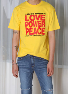no.1298 Love Power Peace 티셔츠 3color