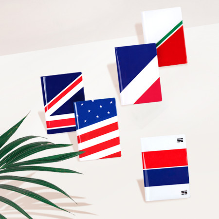 루카랩 여권지갑 Passport Wallet - 국기 여권케이스 ver.2