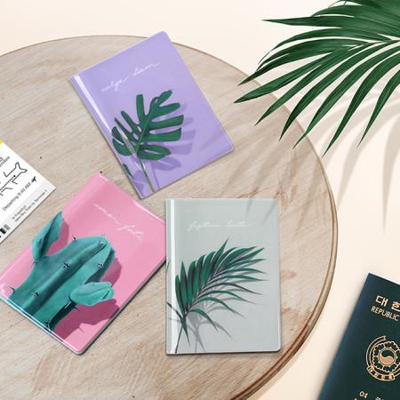 루카랩 여권지갑 Passport Wallet - 가든 여권케이스