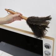 비치우드 순(純) 타조깃털 먼지털이개 S