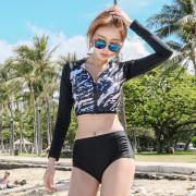 집업크롭 래쉬가드 세트/ 여름 수영복 레쉬가드 태양을 피하자!!