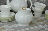 (예카공구) 5. 웨이브골든에징 설탕기 로모노소프 임페리얼 포세린 예쁜그릇