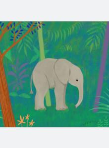 코끼리숲 아트포스터(A3)
