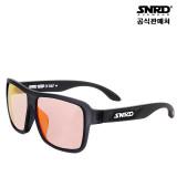 세컨드라운드 SNRD 남자 여자 공용 미러 스포츠 스포티한 선글라스 PRISM BLACK- 사은품 총3가지 증정