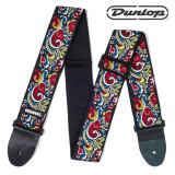 Dunlop 지미 헨드릭스 시그니쳐 LOVE DROPS 자카드 기타스트랩 멜빵 2컬러