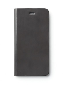 제누스 아이폰8 플러스 루나 가죽케이스 그레이
