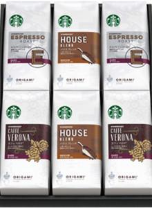 [선물 세트] 스타벅스 오리가미 드립 커피 3 종류 각 2 박스 6 박스 세트 (1 상자 당 10g × 5 봉지)