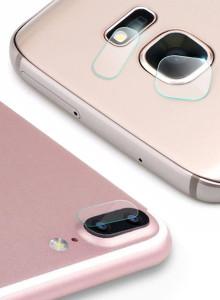 아이폰8플러스/7플러스 겸용 MK 카메라 렌즈 보호 강화유리필름