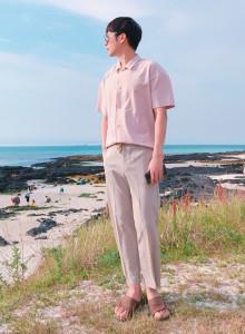남자 여름 슬랙스 바지 2color