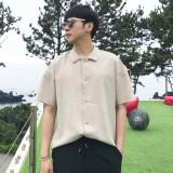 해리슨 남자 여름 오픈 카라 반팔 셔츠 5color