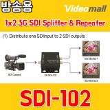 SDI102 - 1x2 3G SDI Splitter & Repeater