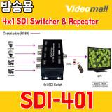 SDI401 - 4x1 SDI Switcher & Repeater