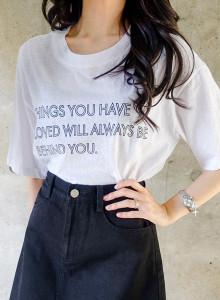 [임블리]비하인드 티셔츠