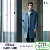 (2차재입고)(지오지아/ZIOZIA) 스플릿슬리브 오버핏 김수현 발마칸코트(AAW4CG1101/다크블루)