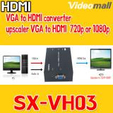 SX-VH03 / VGA to HDMI converter, upscaler VGA to HDMI 720p or 1080p